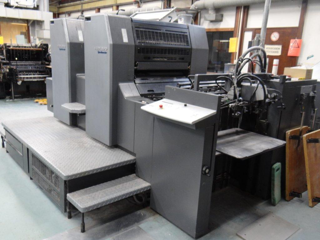 Choosing from Various Models of Used Printing Presses