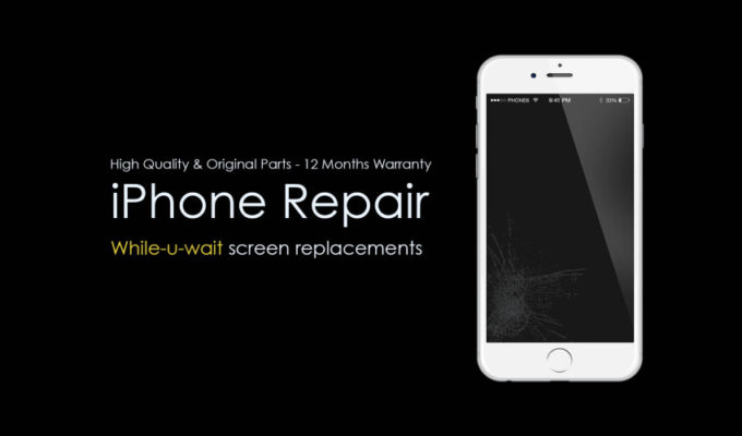 Unde iti repari iPhone-ul?